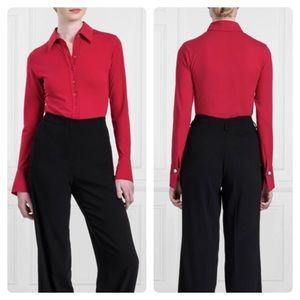 Anne Fontaine Long Sleeve Shirt w/French Cuffs